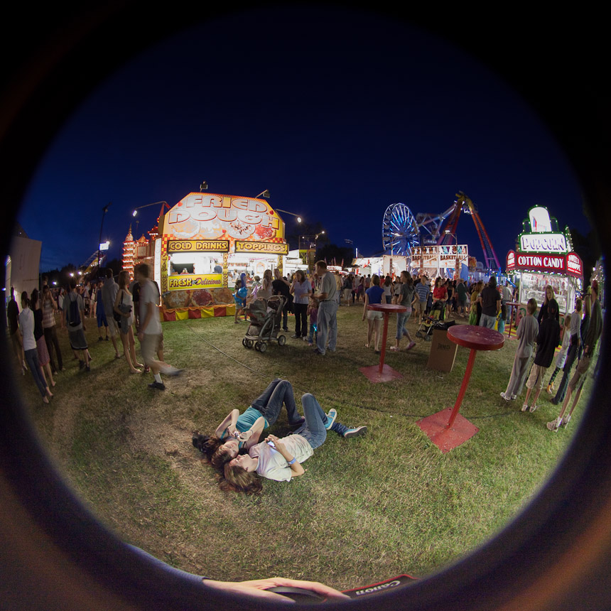 full fisheye town fair