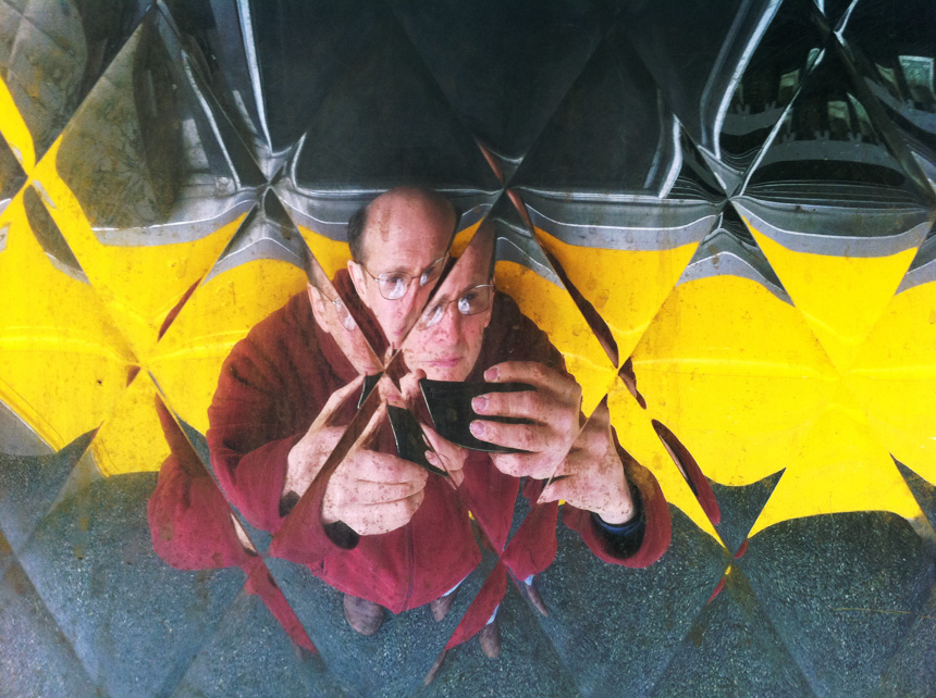 lunch truck reflection