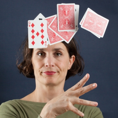 tossing your cards